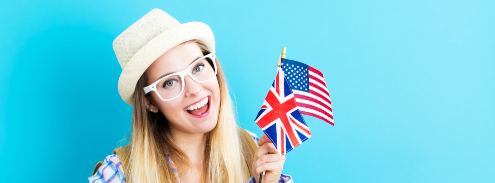 Tutte le differenze tra inglese britannico e inglese americano